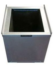 The Metal Shop Steel Insulated Return Air Stand 26.5 Inch Wide x 22 Inch Deep - 20 Inch Height 003-999