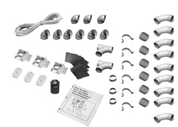 3-INLET INSTALLATION KIT, WHITE 040007