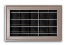 154R 08X10 FLOOR RETURN GRILLE BROWN 154R08X10