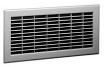 325 14X14 BROWN FLOOR RETURN AIR GRILLE 1461414BR (6/CS)