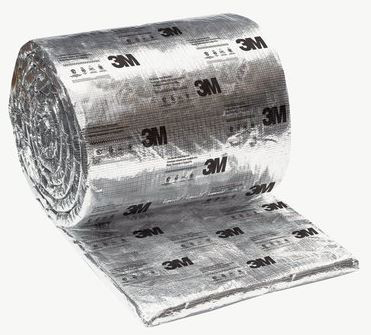 3M FIRE BARRIER DUCT WRAP 615+ 1-1/2 in x 24 in x 25 ft ROLL 98-0400-5612-3