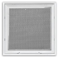 4030FG-2DB 24X24 T-BAR PERFORATED STEEL RETURN AIR FILTER GRILLE W/R6 BACK