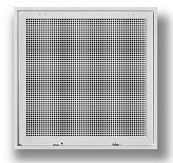 4050FG-2DB 24X24 T-BAR ALUM EGG CRATE RETURN AIR FILTER GRILLE W/R6 BACK (W/REMOVABLE CORE)