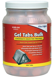 Nu-Calgon 4185-04 Gel Tabs 3 Ton Tabs (200 ct. Bulk)