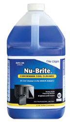 NU-BRITE CONDENSER COIL CLEANER 1 GALLON 4291-08