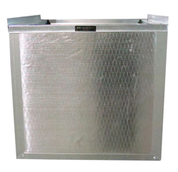 DUCT BOARD R6 INSULATED RETURN AIR STAND 14.5