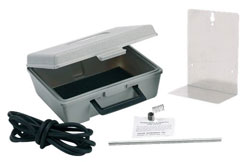 CARRYING CASE A-432 FOR MAGNEHELIC GAGE INCLUDES RUBBER TUBING, BRACKET & TERMINAL TUBE W/HOLDER
