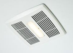 Broan AE110L InVent Series Single-Speed Fan With LED Light 110 CFM ENERGY STAR Certified