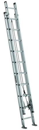 EXTENSION LADDER 20' ALUMINUM AE2220 TYPE IA, 300lb
