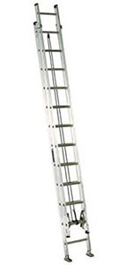 EXTENSION LADDER 24' ALUMINUM AE2224 TYPE IA, 300lb