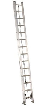 EXTENSION LADDER 28' ALUMINUM AE2228 TYPE IA, 300lb