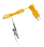 Fieldpiece ATA1 K-Type Thermocouple with Alligator Clip