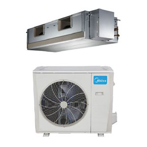 Midea Ductless DLFLDA/DLCLRA Single Zone Light Commercial Advantage Series Ducted System 36,000 Btu/h
