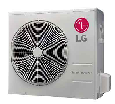 LG LAU240HSV2 Art Cool Mirror Single Zone Inverter Outdoor Unit 24,000 Btu/h
