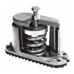 HOUSED SPRING MOUNT 125 LBS. C-A-125 (BROWN)