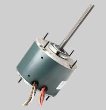 Wagner WG840728 Single Speed Condenser Fan Motor 1/4HP, 1075/1 RPM, 2.2FLA, 208-230V, 60C Ambient