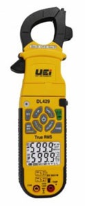 DL429 TRUE RMS ADVANCED HVAC CLAMP METER W/WIRELESS TO SMARTPHONE /TABLET BLUETOOTH
