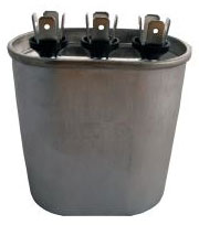 OVAL RUN CAPACITOR 30 + 5 MFD X 370V POCD305