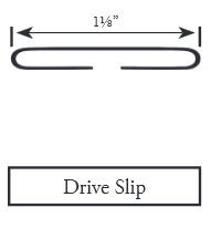 DRIVE SLIP 24GA 10' DSGA24 100'/BNDL