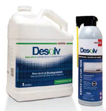 Desolv Mini-Split Evaporator Coil & Blower Fan Cleaner 1 Gallon Concentrated solution 82565