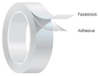 Fasson 950 2 Inch Silver UL 723 Duct Tape