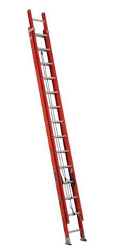 EXTENSION LADDER 28' FIBERGLASS FE3228 TYPE IA, 300lb