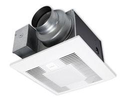 Panasonic FV-05-11VKL1 WhisperGreen Select Fan/Light 50-80-100 CFM