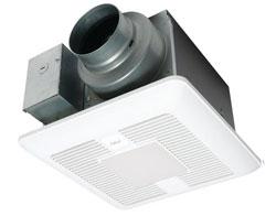 Panasonic FV-0511VKL2 WhisperGreen Select Fan/Light 50-80-100 CFM