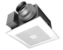 Panasonic FV-05-11VKS1 WhisperGreen Select Fan 50-80-100 CFM (pre-installed multi-speed)