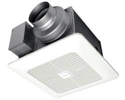 Panasonic FV-0511VKS2 WhisperGreen Select Fan 50-80-100 CFM (pre-installed multi-speed)