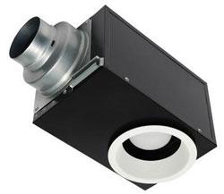 Panasonic FV-08VRE2 WhisperRecessed LED Designer Fan/Light 80 CFM