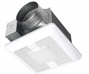 Panasonic FV-1115VKL2 WhisperGreen Select Pick-A-Flow Fan/Light 110-130-150 CFM
