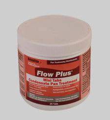 FLOW-PLUS-25 FLOW-PLUS CONDENSATE PAN TREATMENT 25 TABS/JAR 24 JARS/CASE