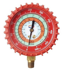 G529LD LPF MANIFOLD REPLACEMENT GAUGE RED/HIGH SIDE 0-800 PSI R410A
