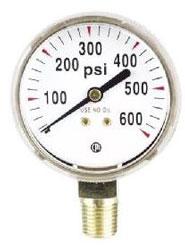 G8SD WELDING NITROGEN/CO2 REPLACEMENT GAUGE 600 PSI