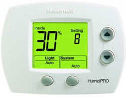 Honeywell H6062A1000 HumidiPRO Digital Humidity Control with Outdoor Sensor