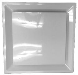 HaVACo HT-2X2-PSPLBE-IB 2'x2' Plastic Plaque Supply Lay-In with R-6 Insulated Back