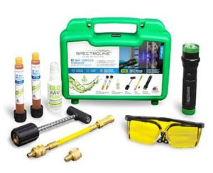 EZ-JECT COMPLETE FLUORESCENT LEAK DETECTION KIT SPE-HVLEZE