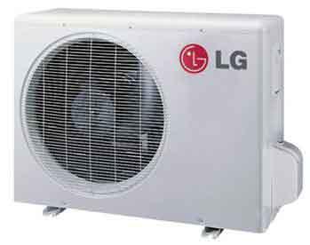 LG LSU120HSV4 High Efficiency Single Zone Inverter Outdoor Unit 11,200 Btu/h