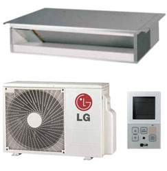 LG LD127HV4 Low Static Duct Single Zone System 11,600 Btu/h