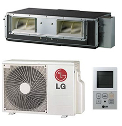 LG LH247HV High Static Duct Single Zone System 24,000 Btu/h
