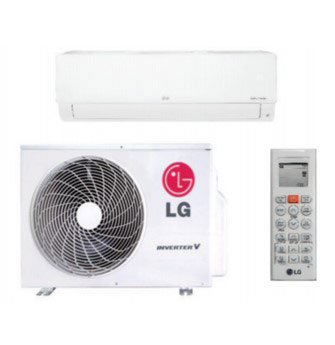 LG LS090HSV5 Single Zone High Efficiency Standard Wall Mount System 9,000 Btu/h