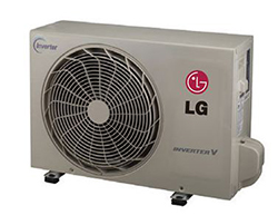 LG LSU120HEV1 Mega 220V Single Zone Inverter Outdoor Unit 12,000 Btu/h