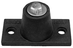 ND DOUBLE DEFLECTION NEOPRENE MOUNT 15-45 LBS. ND-A-BLACK