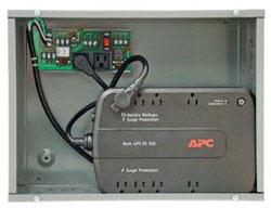 PSH550-UPS-STAT ENCLOSED 550VA UPS BACKUP POWER SUPPLY W/STATUS CONTACTS