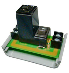 Funtional Devices PSMN24SB10 2.75 Inch Track Mount Switch, 2 Position Maintained, On/Off, 10 Amp Circuit Breaker, 24 VAC