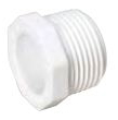 PVC THREADED PLUG MPT 3/4