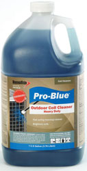 PRO-BLUE FOAMING COIL CLEANER 1 GAL (4/CS)