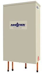 AQUEFIER HEAT RECOVERY UNIT FOR USE WITH R-22 & R-410A WITH SHUT OFF VALVES R6K-PC-410