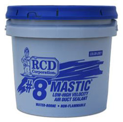 RCD #8 Mastic 1 Gallon Pail Sheet Metal Duct Sealant